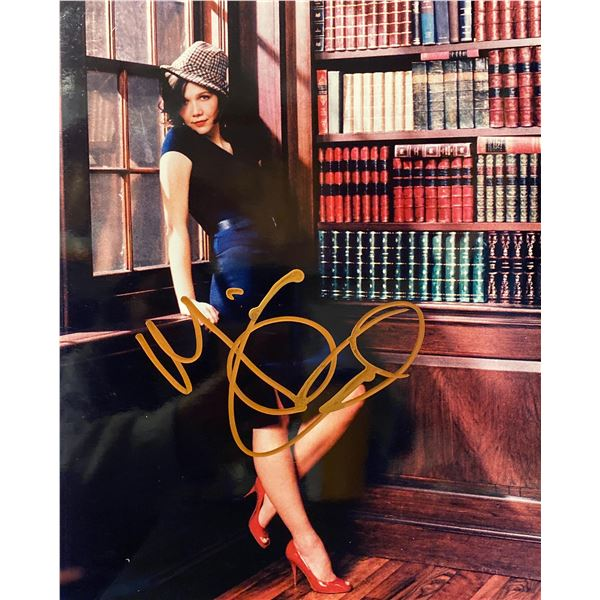 Maggie Gyllenhaal signed photo