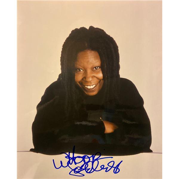Whoopi Goldberg signed photo