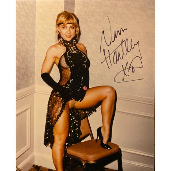 Nina Hartley signed photo