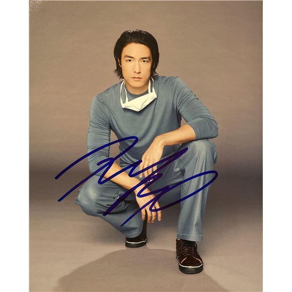 Daniel Henney signed photo