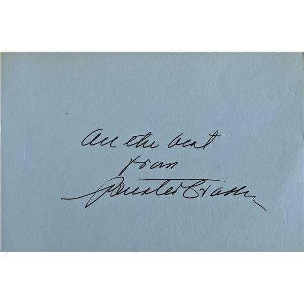 Buster Crabbe Signature Cut
