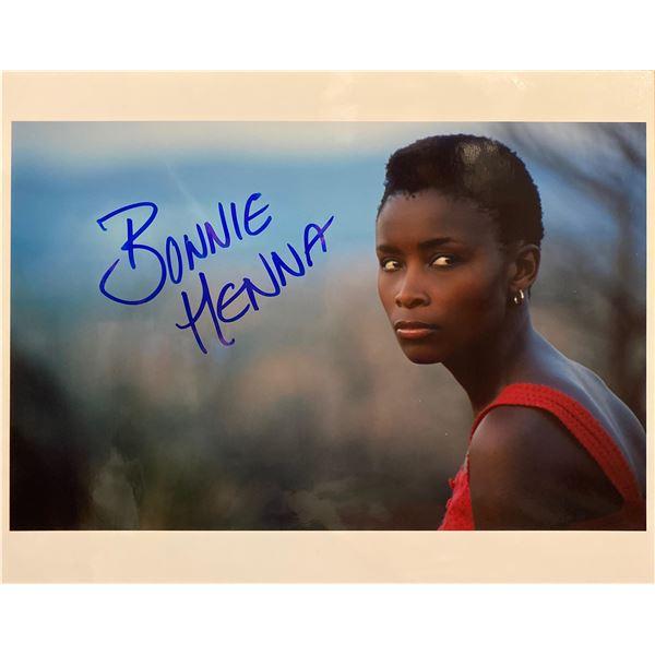Bonnie Mbuli signed photo