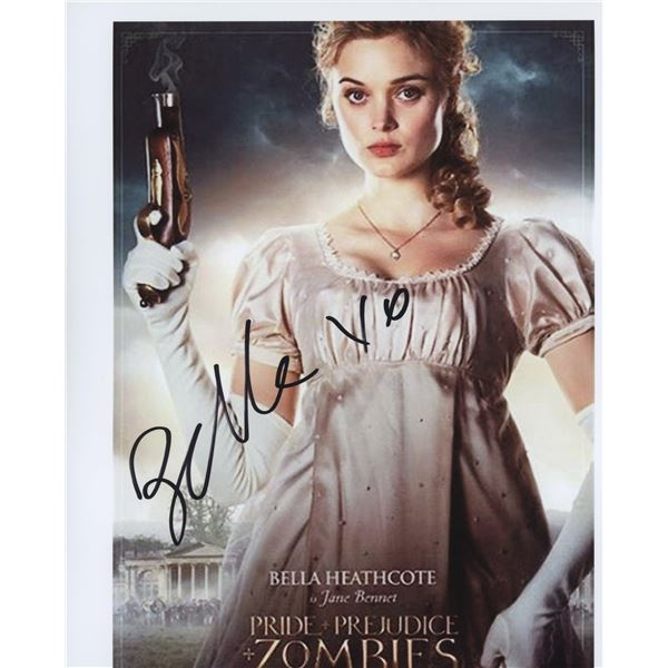 Pride and Prejudice and Zombies signed movie photo
