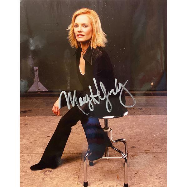 Marg Helgenberger signed photo