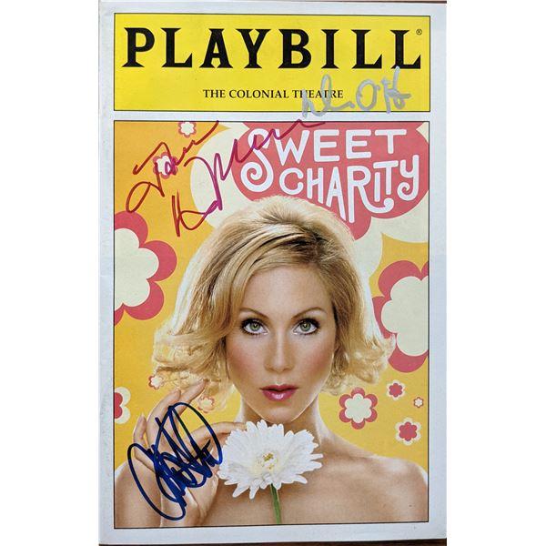 Sweet Charity Christina Applegate Signed Playbill