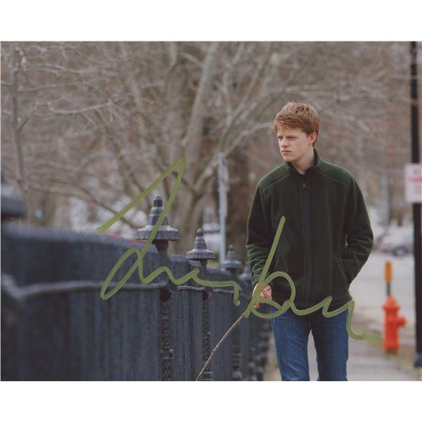 Lucas Hedges signed movie photo