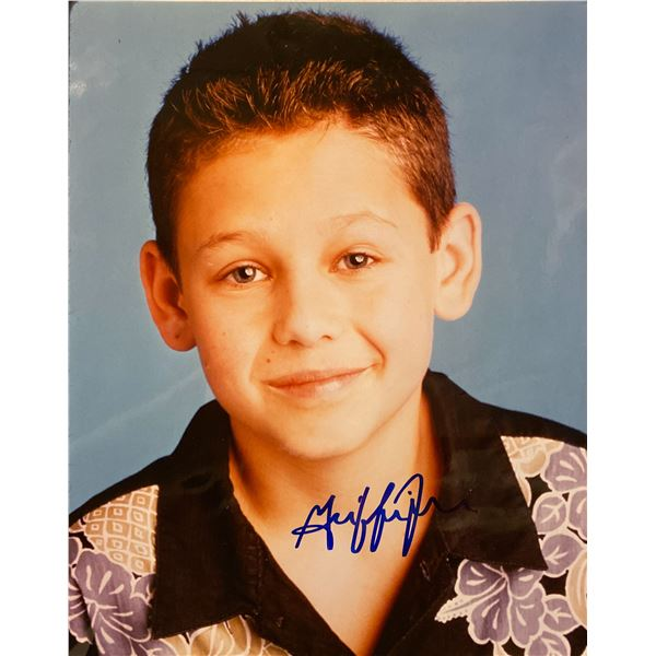 Griffin Frazen signed photo