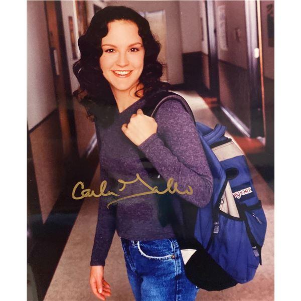 Carla Gallo signed photo