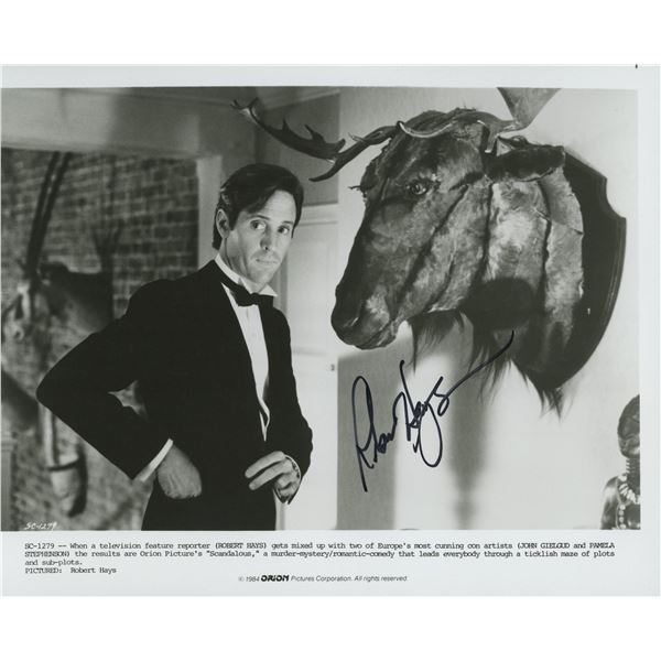 Scandalous Roberts Hays signed movie photo