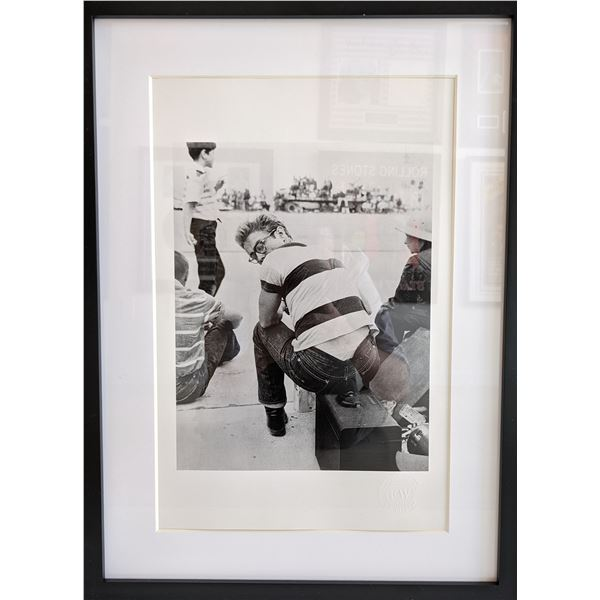 James Dean Custom Matted and Framed Photo