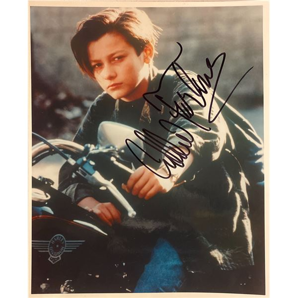Terminator Edward Furlong signed movie photo