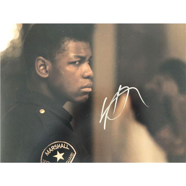 Detroit John Boyega signed movie photo