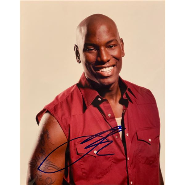 Tyrese Gibson signed photo