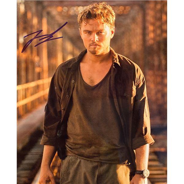 The Departed Leonardo DiCaprio signed movie photo
