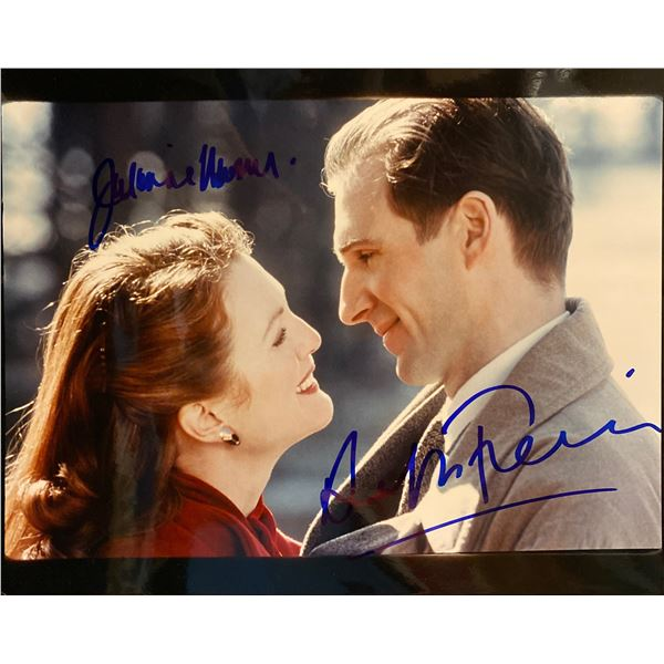 The End of the Affair Julianne Moore and Ralph Fiennes signed movie photo