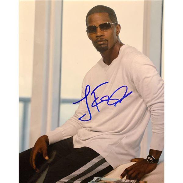 Jamie Foxx signed photo