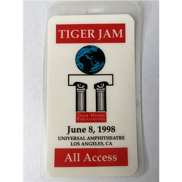 Tiger Jam 1998 Backstage Pass
