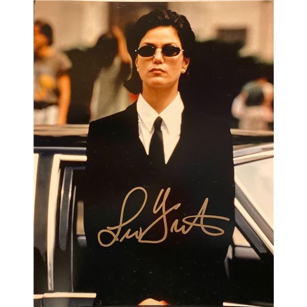 Men in Black Linda Fiorentino signed movie photo