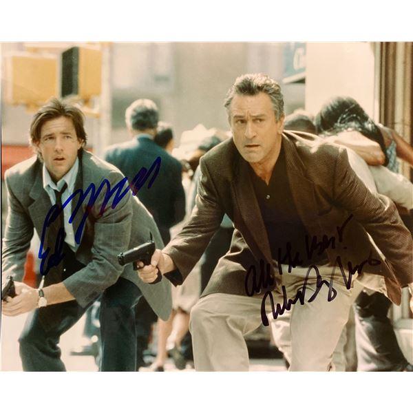 15 Minutes Robert De Niro and Edward Burns signed movie photo