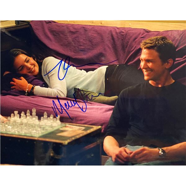 First Daughter Katie Holmes and Marc Blucas signed movie photo