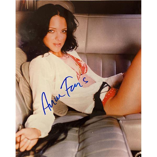 Anna Faris signed photo