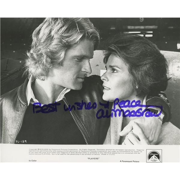 Players Ali MacGraw signed movie phpto