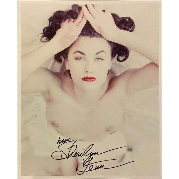 Sherilyn Fenn signed photo