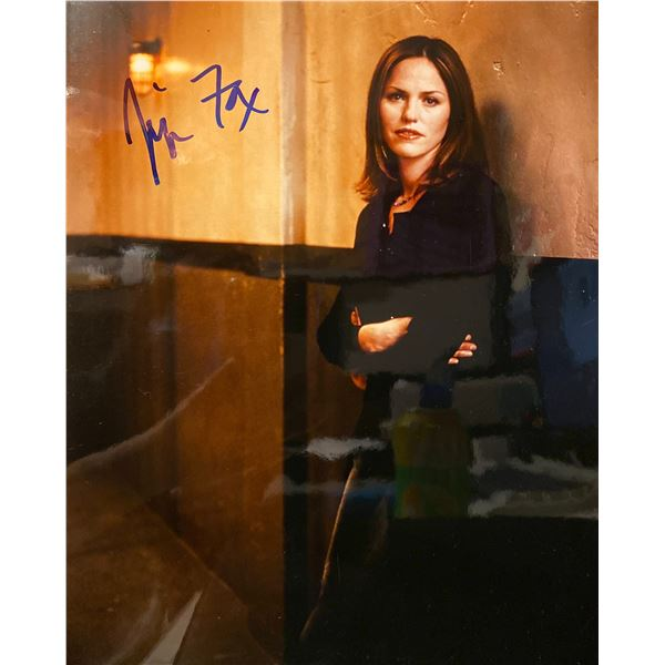 Jorja Fox signed photo