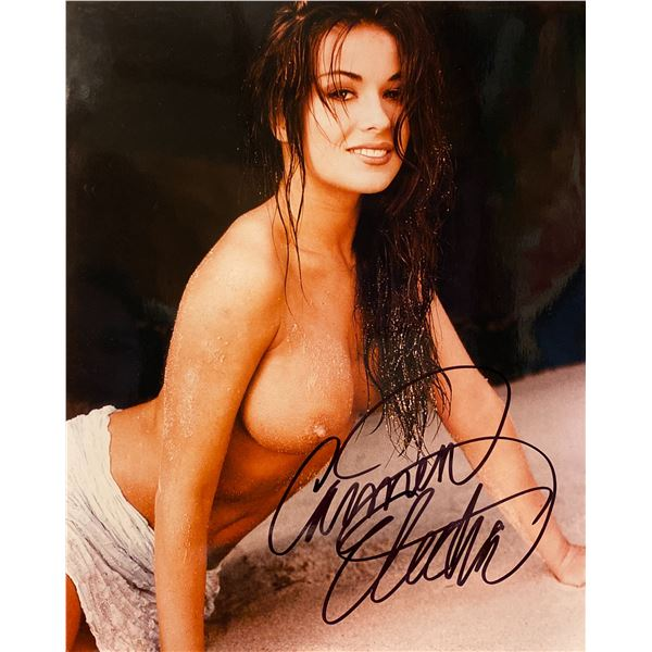 Carmen Electra signed photo