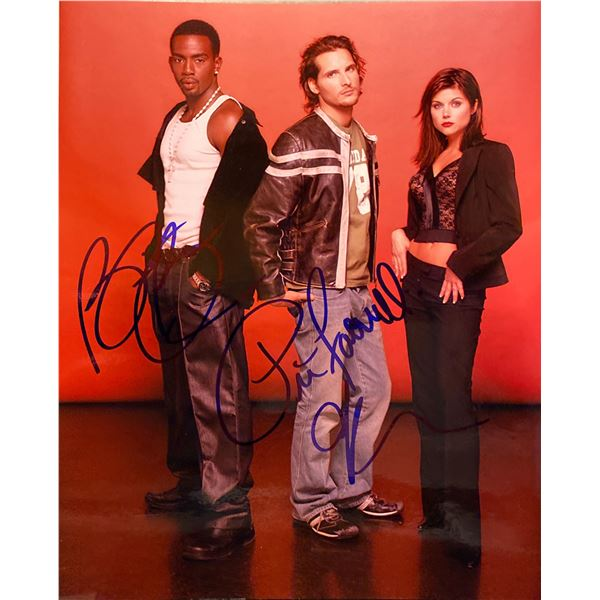 Fast Lane cast signed photo