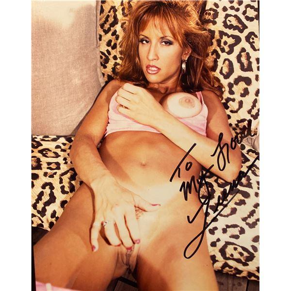 Leanna Foxxx signed photo