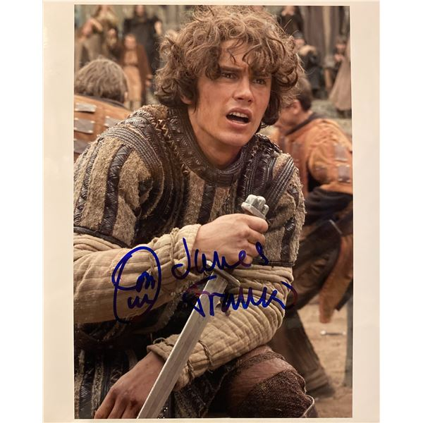 Tristan & Isolde James Franco signed movie photo