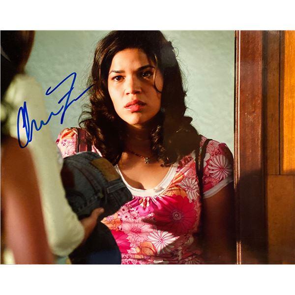 America Ferrera signed photo