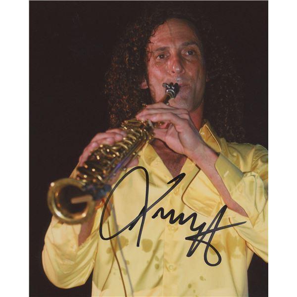 Kenny G signed photo