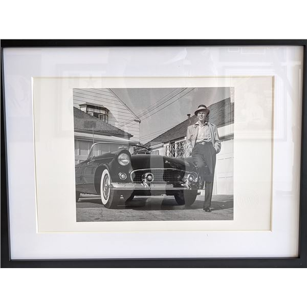 Frank Sinatra Custom Matted and Framed Photo