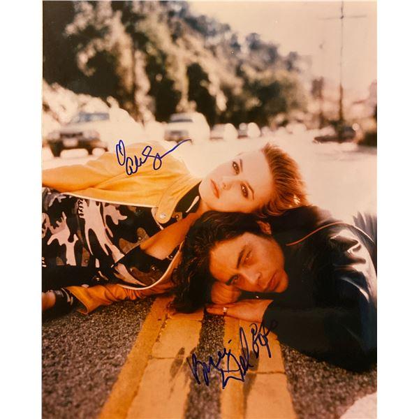 Excess Baggage Benicio del Toro and Alicia Silverstone signed movie photo