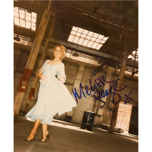 Melissa George signed photo