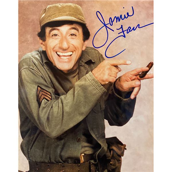 M*A*S*H Jamie Farr signed photo