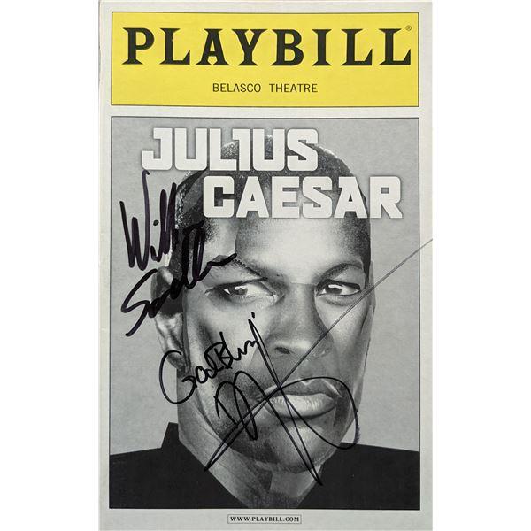 Denzel Washington Julius Caesar Signed Playbill