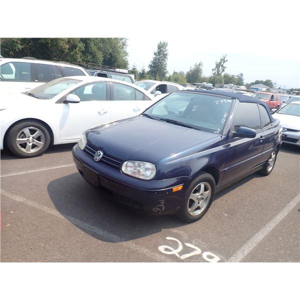 1999 Volkswagen Cabriolet