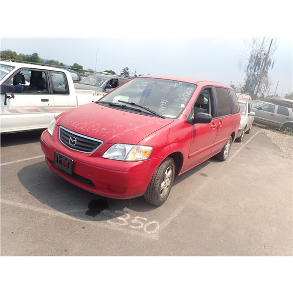 2001 Mazda MPV