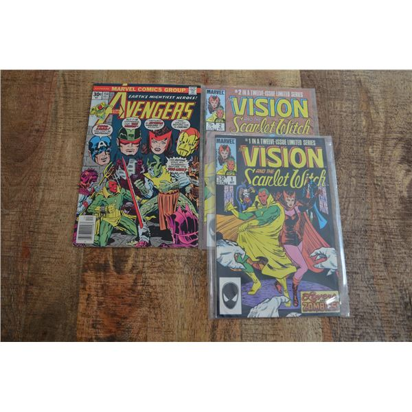 Vision & the Scarlet Witch Comics