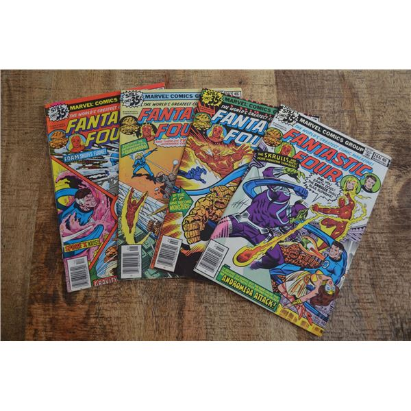 Fantastic Four 201-204