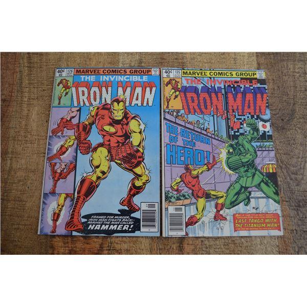 Iron Man 126 135