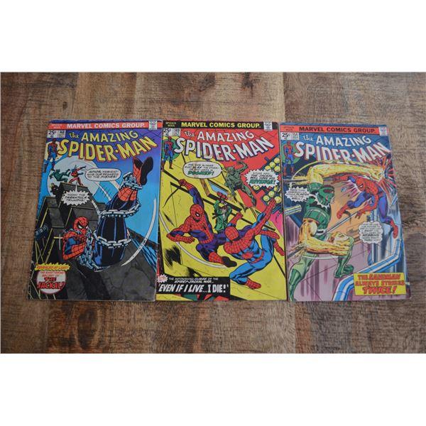 Amazing Spiderman 148 149 154