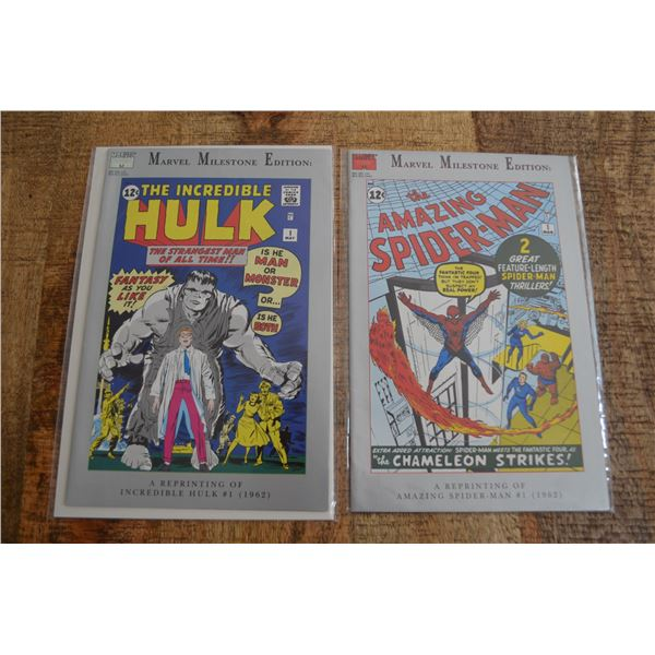Marvel Milestone Edition Comics