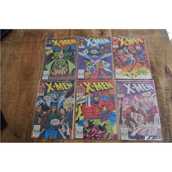 Uncanny Xmen comics