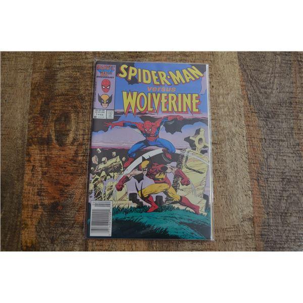 Spiderman vs Wolverine 1