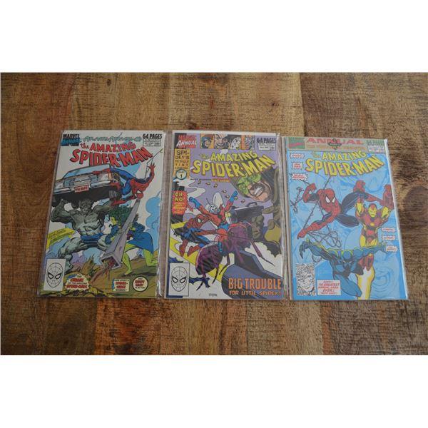 Amazing Spiderman Annuals 23 24 25