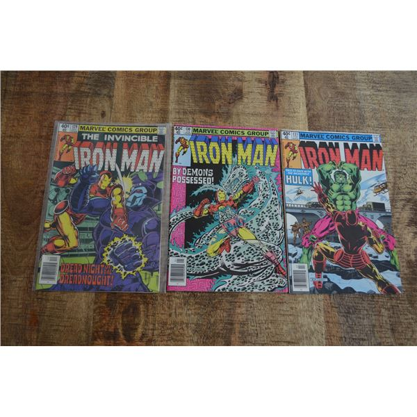 Iron Man 129 130 131
